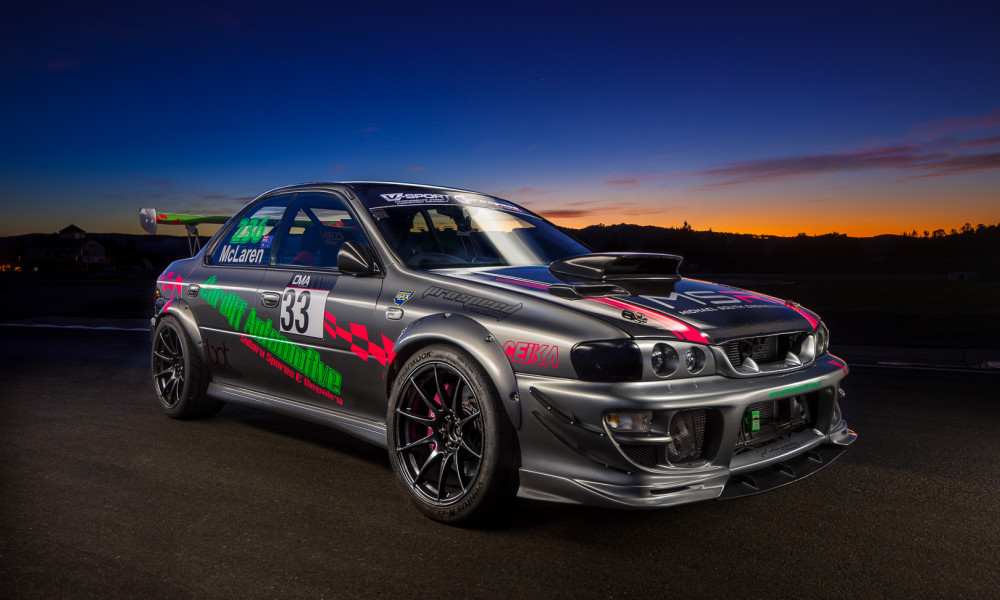 Introducing Ben McClaren's GC8 Subaru WRX