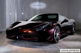 Ferrari 458 Redback Tailor Made