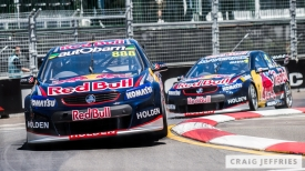 Lowndes in front of Whincup